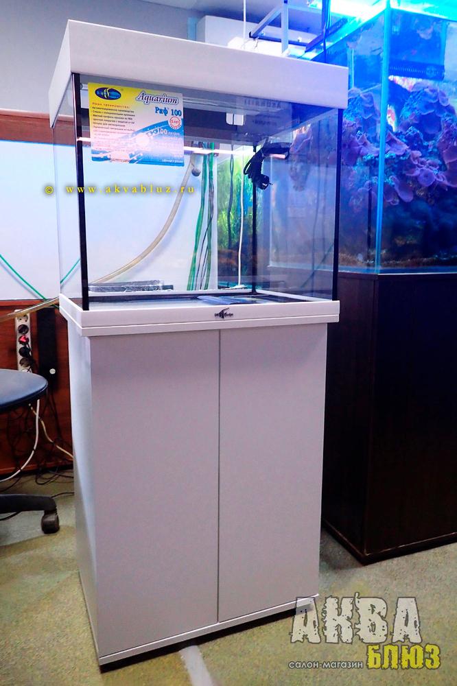 АквариумBiodesign Риф 100 с подставкой и LED-освещением